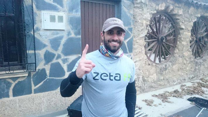 Iñaki Muñoz gana el primer campeonato de pesca a mosca en lago de Euskadi