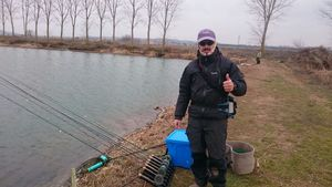 2 Fase de la Liga Santa Ana de pesca a mosca en lago
