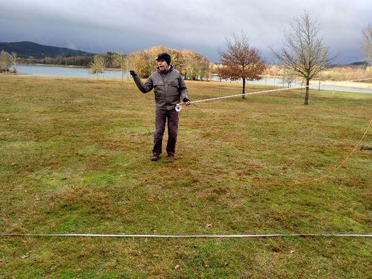 Curso de lanzado a distancia en la pesca a mosca