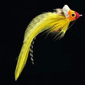 Hair Bug Yellow/Red-B23
