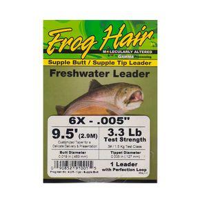 Bajo cónico Frog Hair Freswater 9,5'