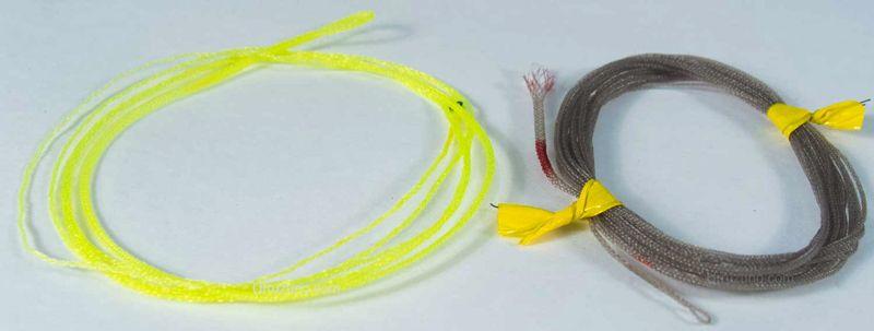 bajo de linea trenzado pesca a mosca