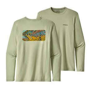 Camiseta Patagonia Graphic Tech Fish Tee