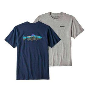 Camiseta Patagonia Fitz Roy Trout Responsibili-tee