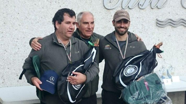 Iñaki Muñoz y Aitor Urruzuno campeones del VIII Open Tolosako Arrantzaleak