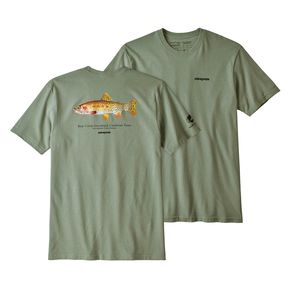 Camiseta Patagonia Greenback Cutthroat World