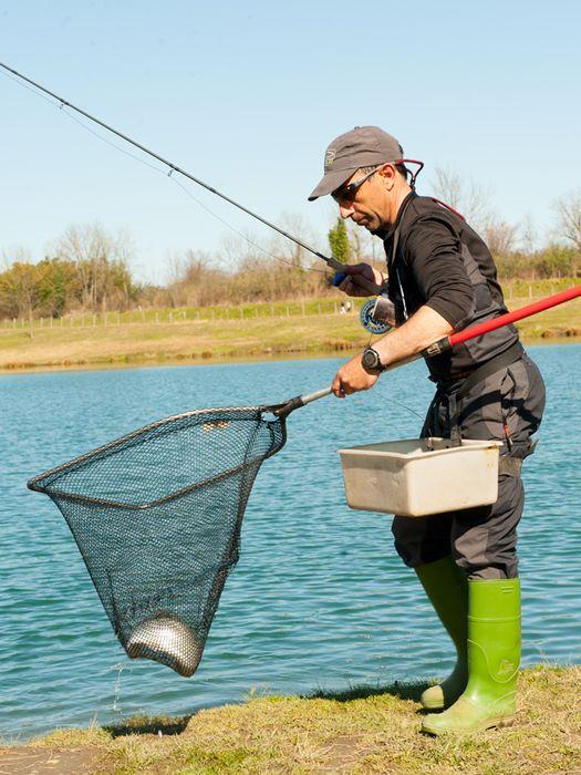 jordi oliveras canas lineas pesca mosca lago zeta