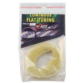Luminous flat tubing