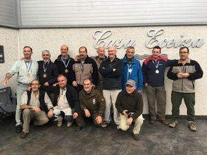 III Open de Veteranos por parejas Salmonidos Mosca Federación Guipuzcoana de pesca