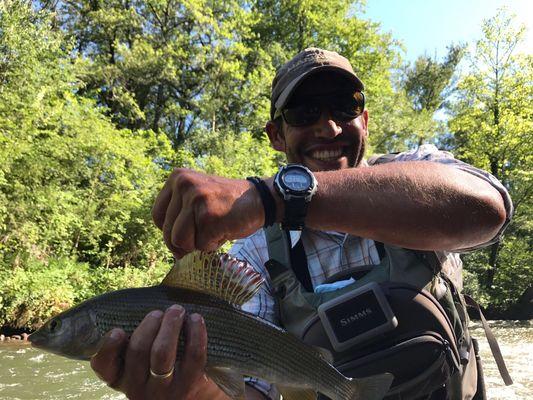 Urruzuno Experience - salida a pescar tímalos a mosca