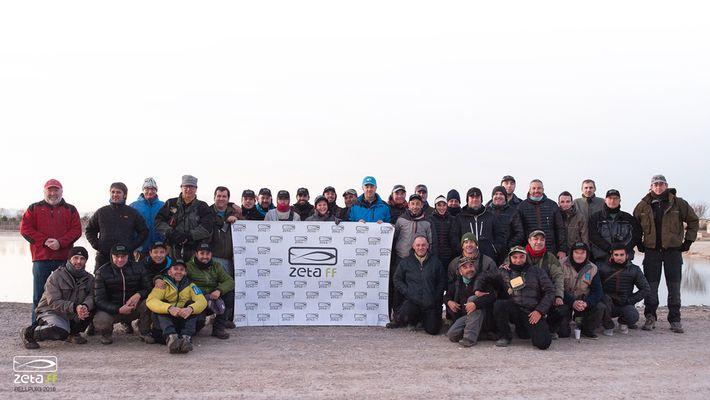 2º Open de pesca a mosca en lago cañas y lineas ZETA celebrado en Bellpuig