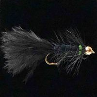 Wooly Bugger Black Green-ST6