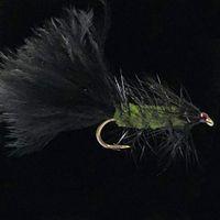 Wooly Bugger Olive 2-ST7